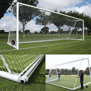 Harrods Goal Nets for Self Weighted Football Posts Junior 6.44m x 2.13m (21x7ft)