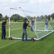 Harrods Portable Goals Junior 6.44m x 2.13m (21x7ft)