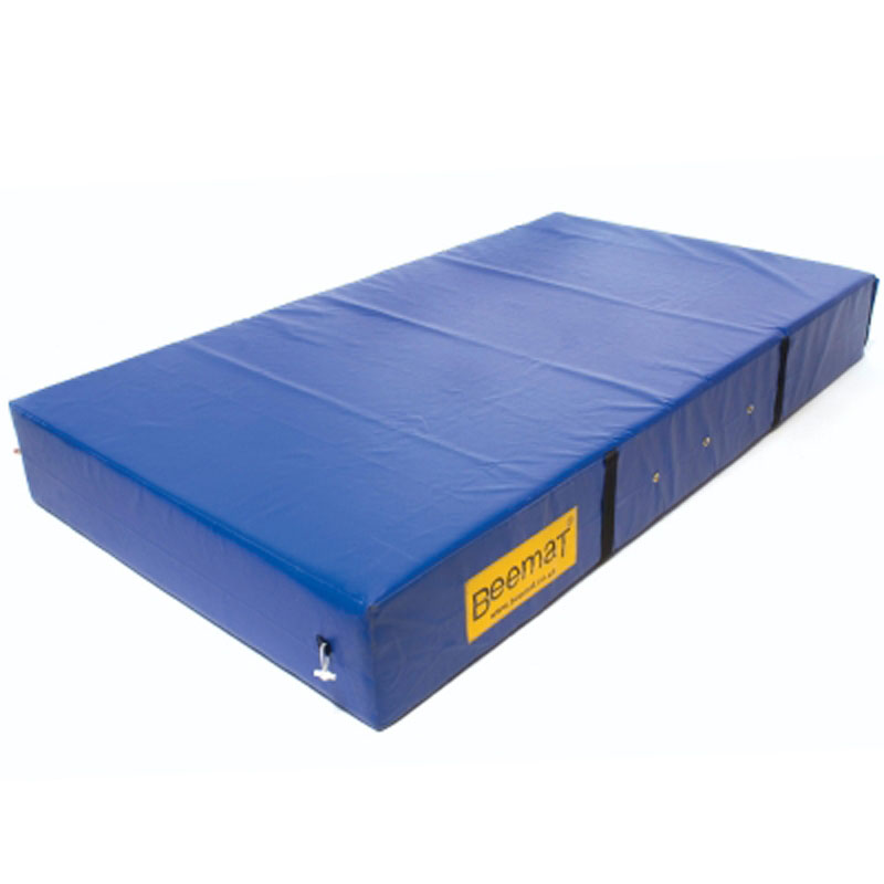 PVC Covered Beemat Safety Mattress 2.44m x 1.37m x 20cm