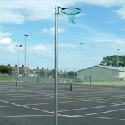 Harrods Socketed Netball Posts