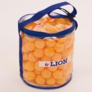 Practice Table Tennis Balls Orange Bag of 144